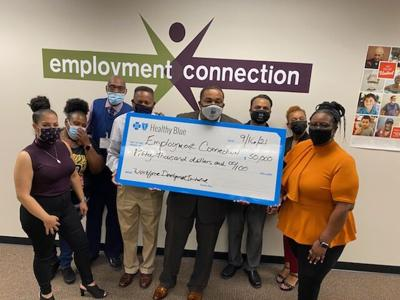 Employment Connection receives $50,000 from Healthy Blue Missouri