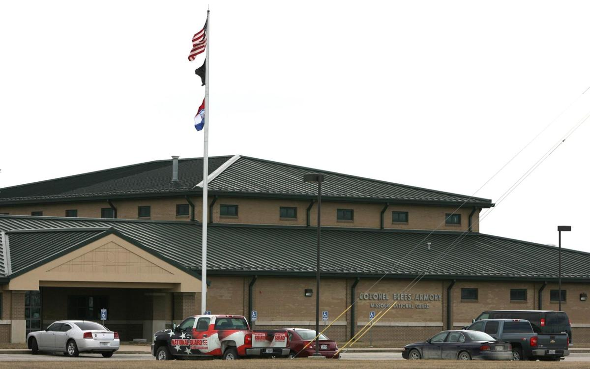 Colonel Blees Armory of the Missouri National Guard