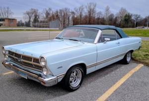 1967 Ford Fairlane 500 convertible F.O.R.D..