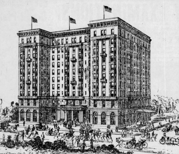 A rendering of the Buckingham when it was proposed