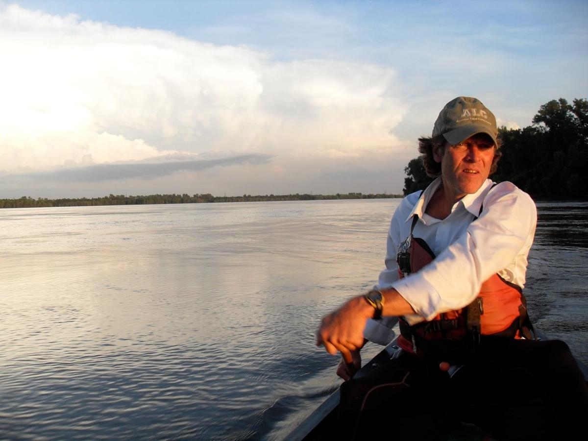 Mike Clark, 52, canoeist and owner of Big Muddy Adventures.