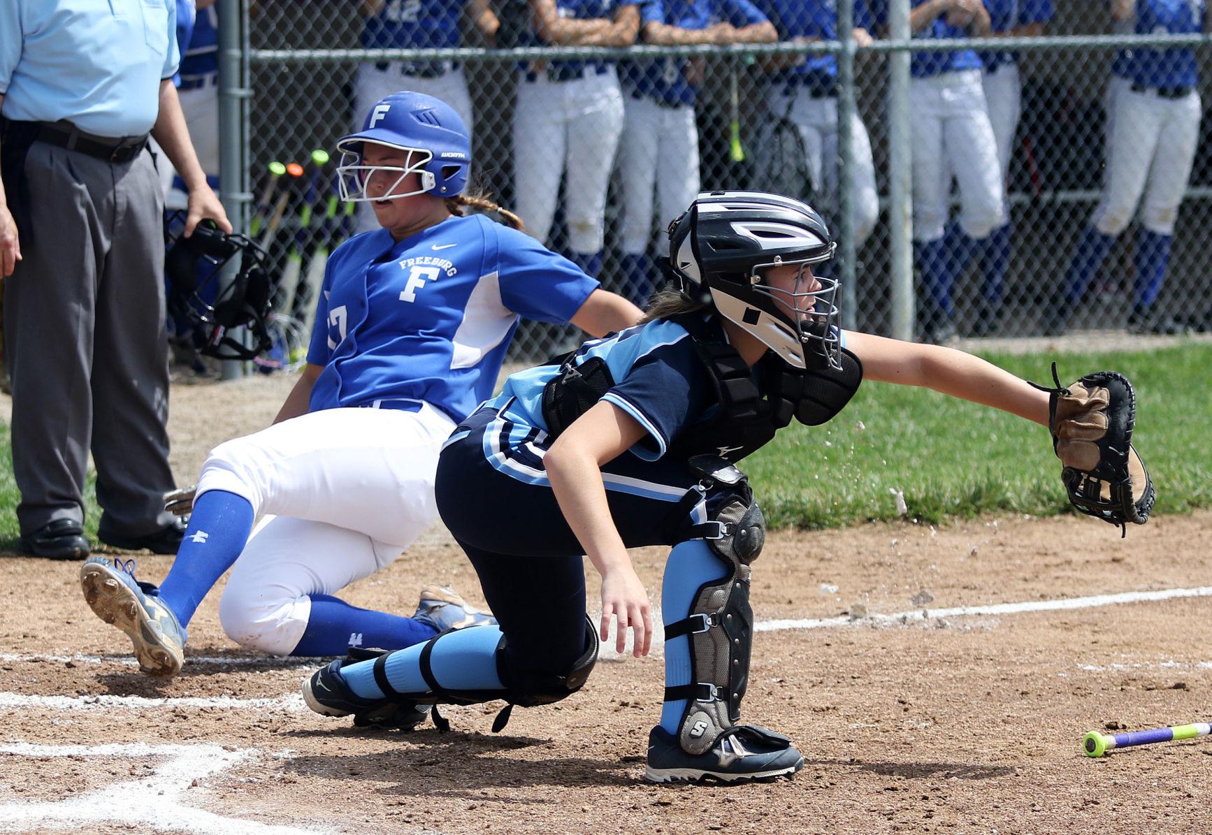 Freeburg Jerseyville Softball (4)