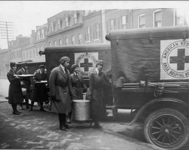 Spanish Flu food delivery