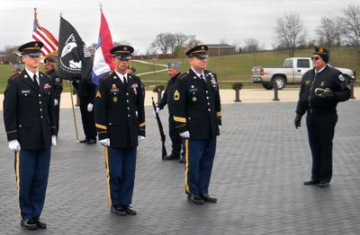 Accused white supremacist, a Missouri National Guard member, serves on state's military honor guard