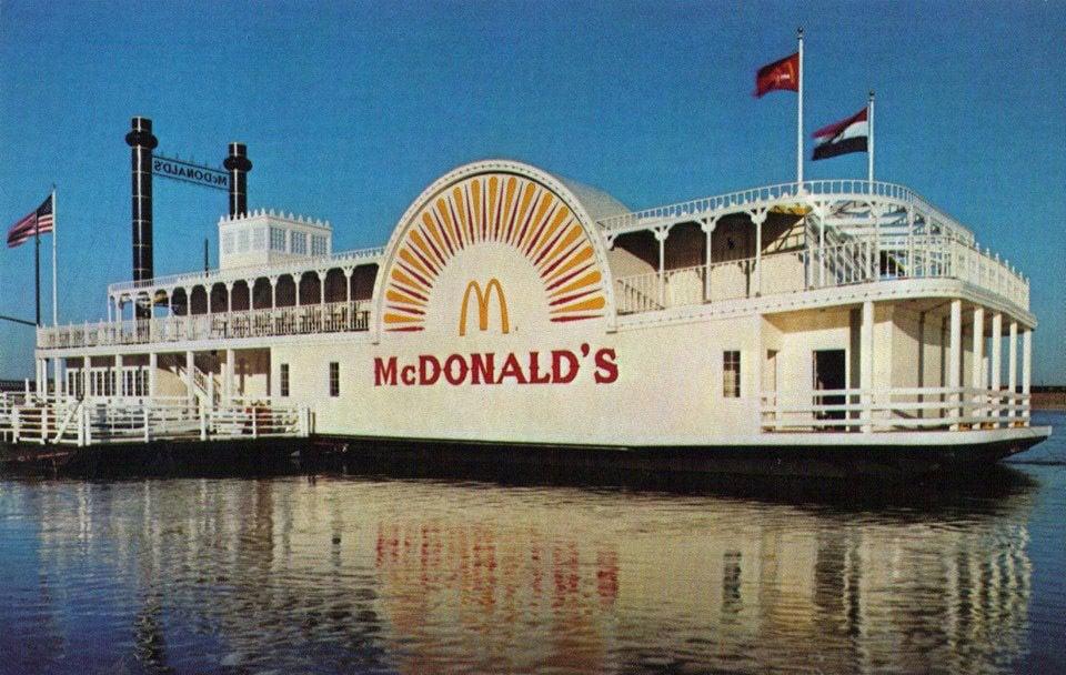Floating McDonald's