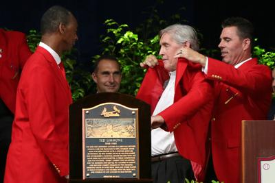 Cardinals Hall of Fame induction