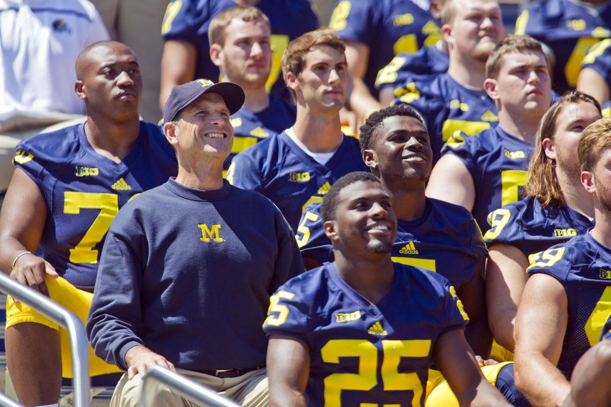 Harbaugh Has Already Won Back Michigan Fans College Sports
