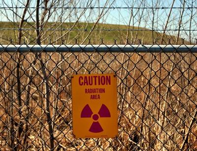 Sign at West Lake Landfill
