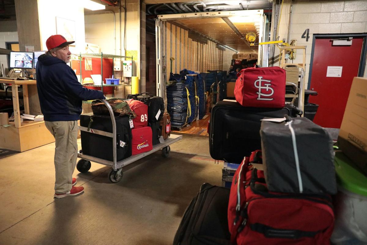 Cardinals pack up for spring training