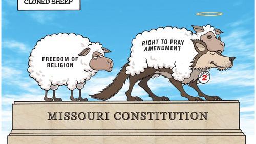Editorial Vote No On Amendment 2 The Phony Prayer