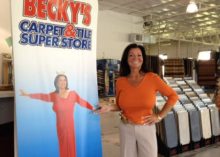 Beckys Reign As Queen Of Carpets Comes To A Sudden End Business