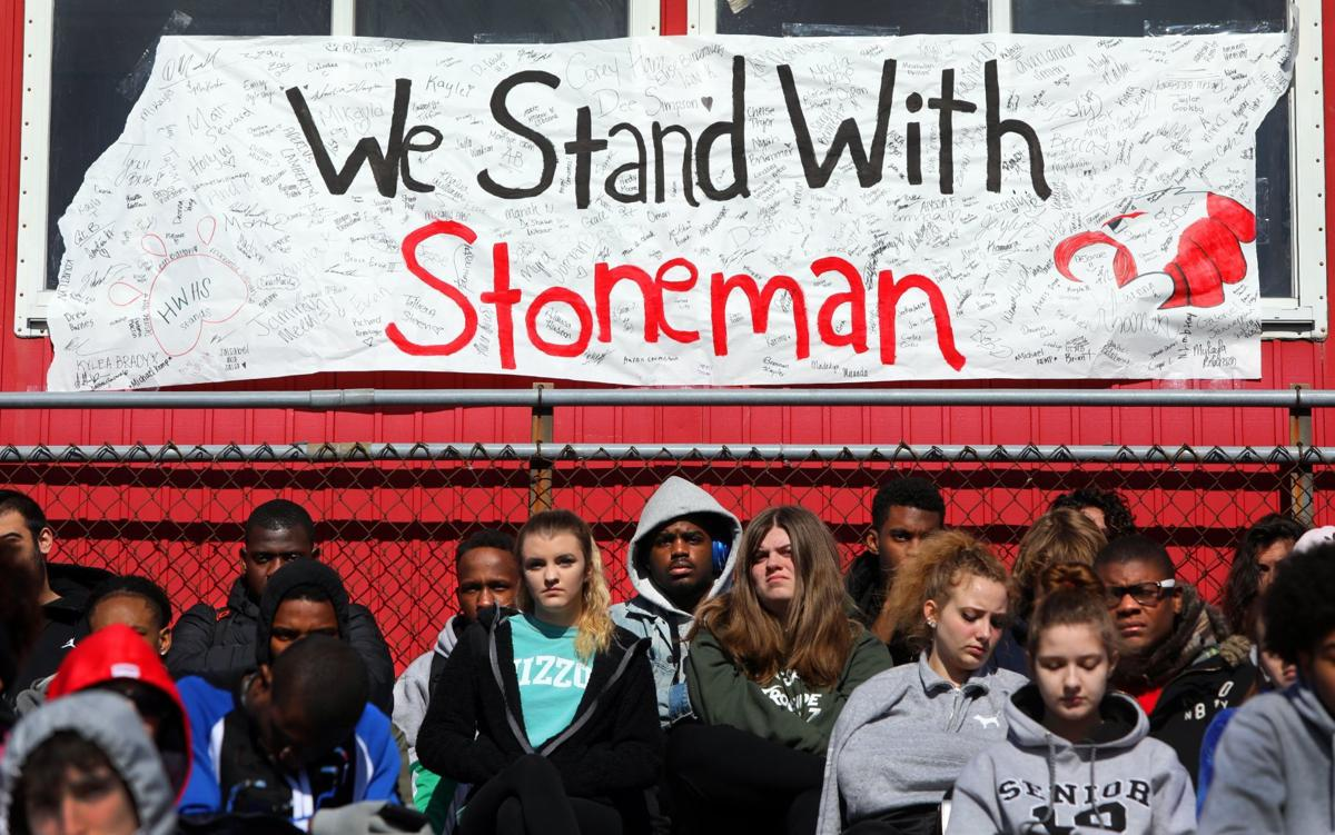 Solemn program at Hazelwood West remembers those killed at Florida high school