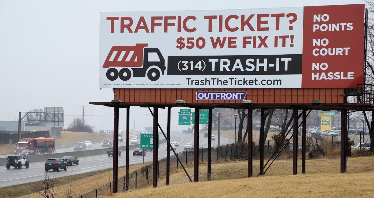 Billboard for TrashTheTicket.com