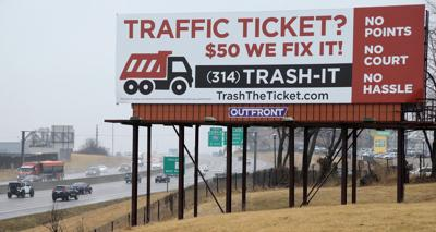Billboard for TrashTheTicket.com