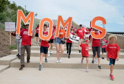 Moms Demand Action for Gun Sense in America rally at Arch grounds
