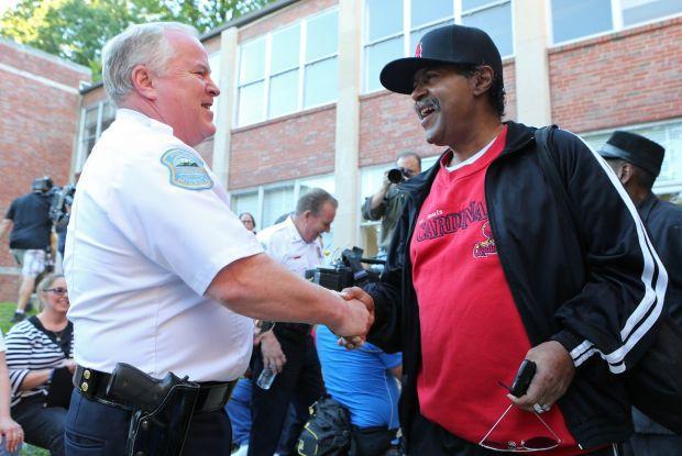 Ferguson meeting for Ferguson citizens only