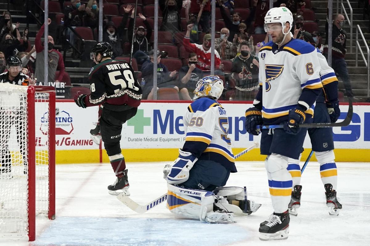 Blues Coyotes Hockey