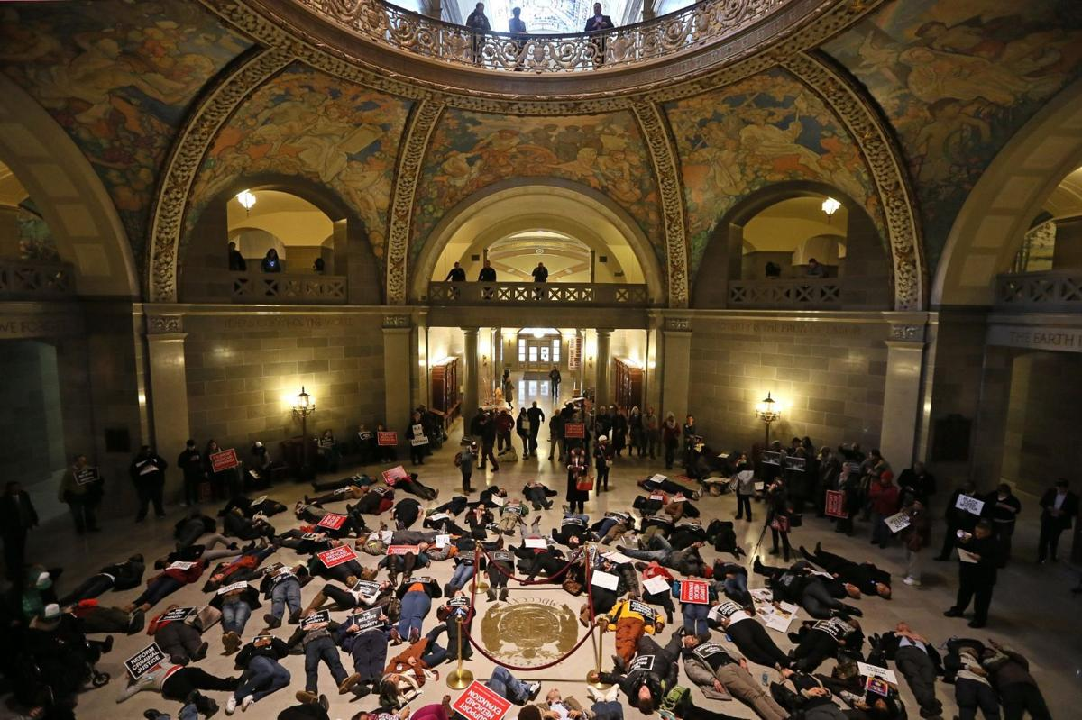 'Die in' at Missouri State Capitol