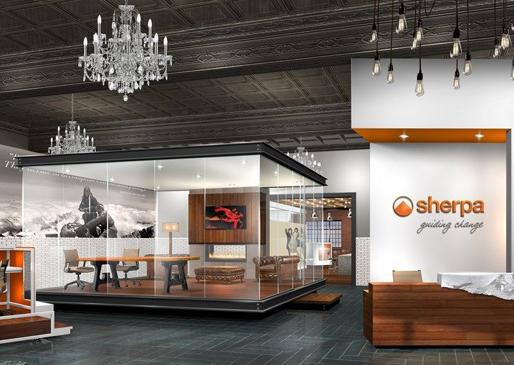 Rendering of new Sherpa office