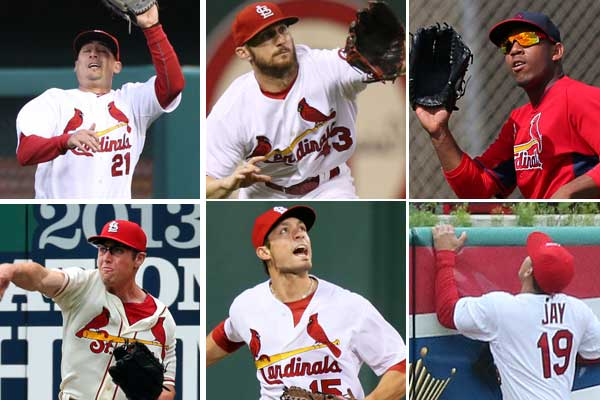 Cardinals outfielders
