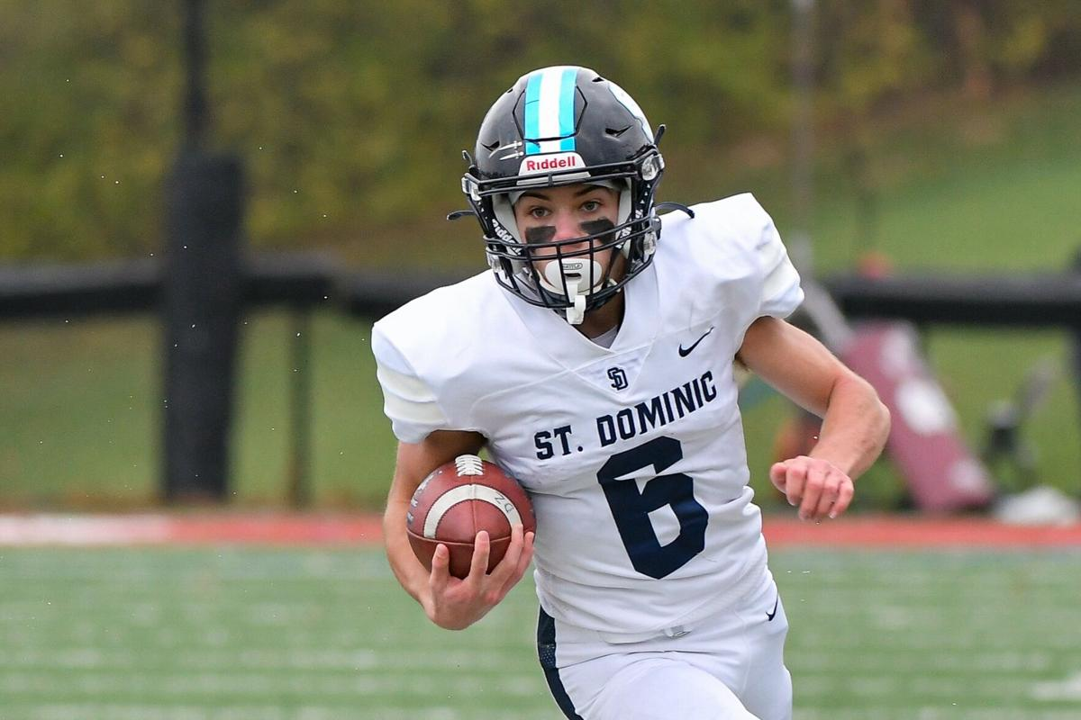 11/14/2020 - Football - C4 D3 championship - St. Dominic at MICDS