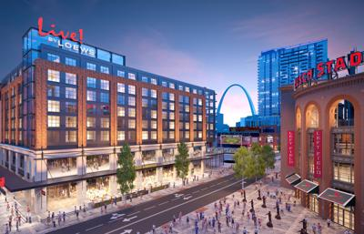 new 65 million loews hotel planned for ballpark village s second