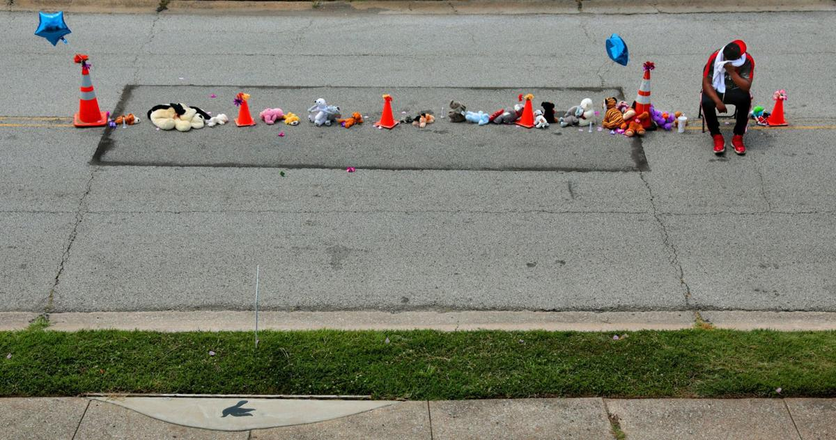 Memorial to Michael Brown, Jr. grows on Canfield Drive on eve of fifth anniversary of Ferguson unrest