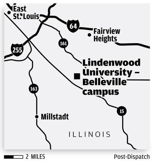 lindenwood university campus map Map Lindenwood University S Belleville Campus Education lindenwood university campus map