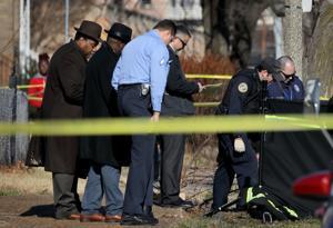 新年のセントルイスの最も暴力的に警察署長のメモリ