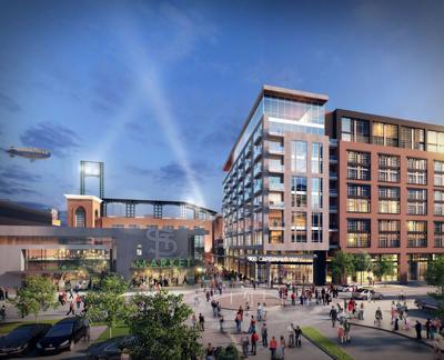 Artist rendering of Ballpark Village Phase II
