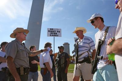 Open Carry Firearm Walk