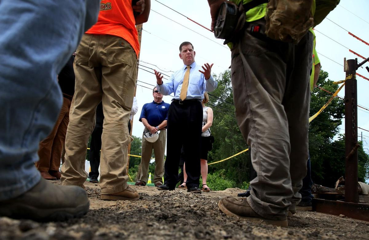 U.S. Secretary of Labor Marty Walsh visits St. Louis