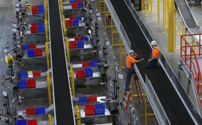 We tour the new Amazon Fulfillment Center in St. Peters