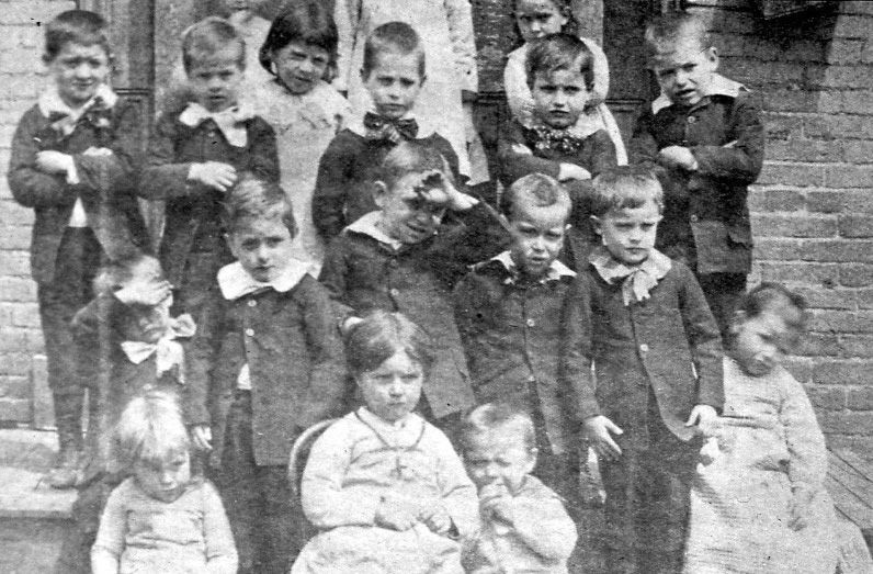 South Side Day Nursery Photograph From Slide Circa 1910