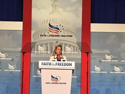 Rep. Ann Wagner speaks to Faith & Freedom conference in DC