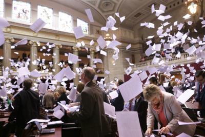 Last day of legislative session