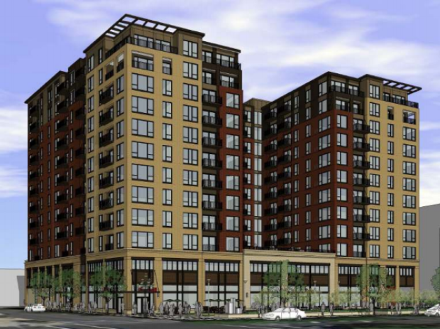 High Rise Apartment Projects Come And Go On Lindell