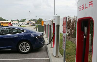 Tesla Charging Stations popping up around St. Louis