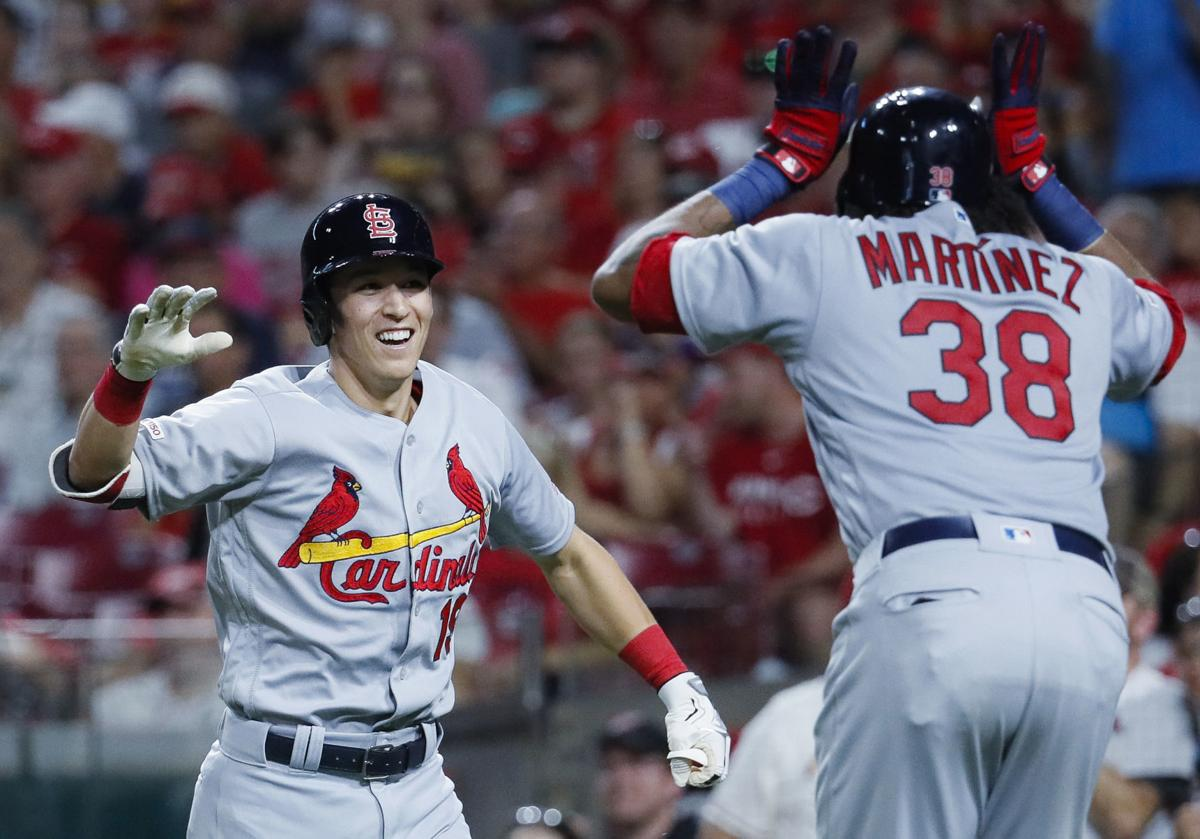 That's grand: Cardinals first slam of the season from Tommy Edman helps beat Reds
