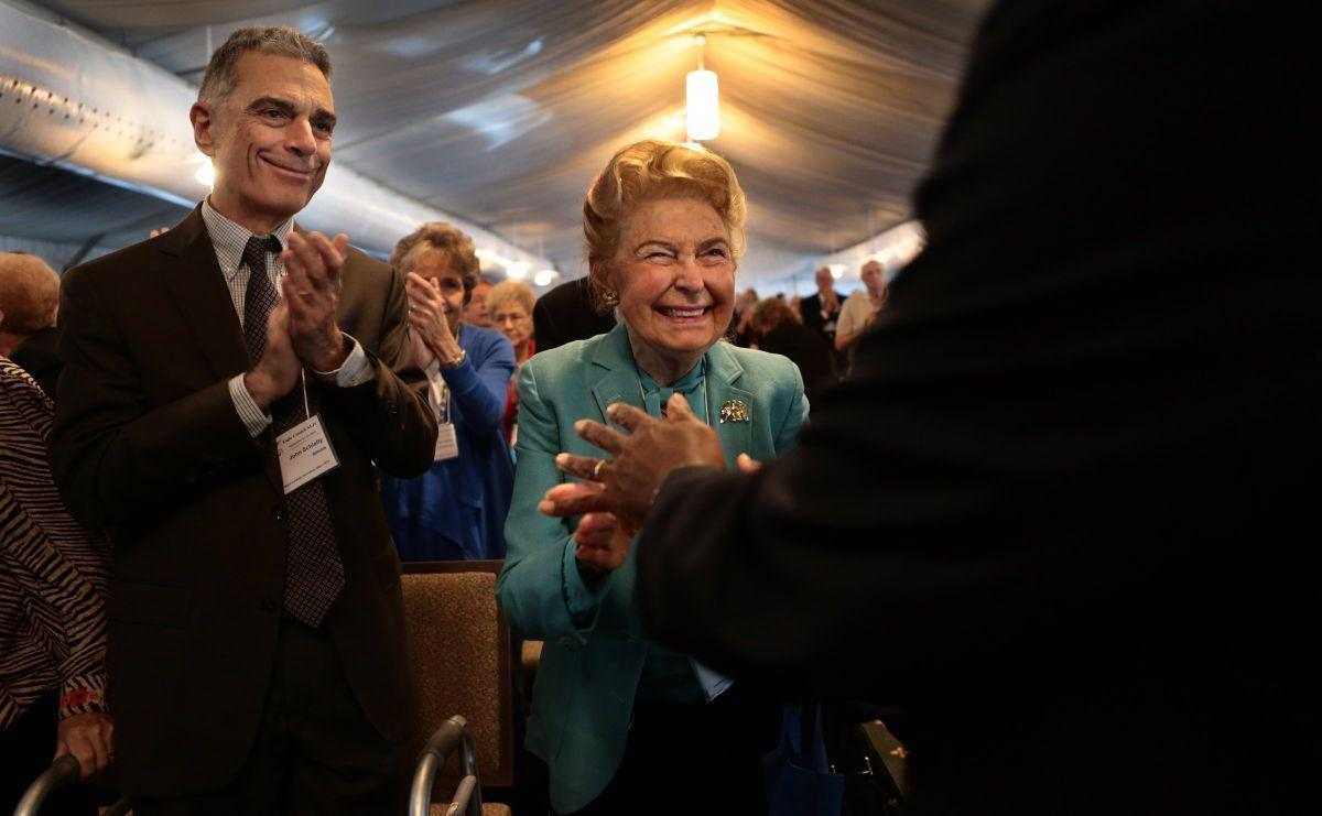 Phyllis Schlafly center stage at Eagle Forum