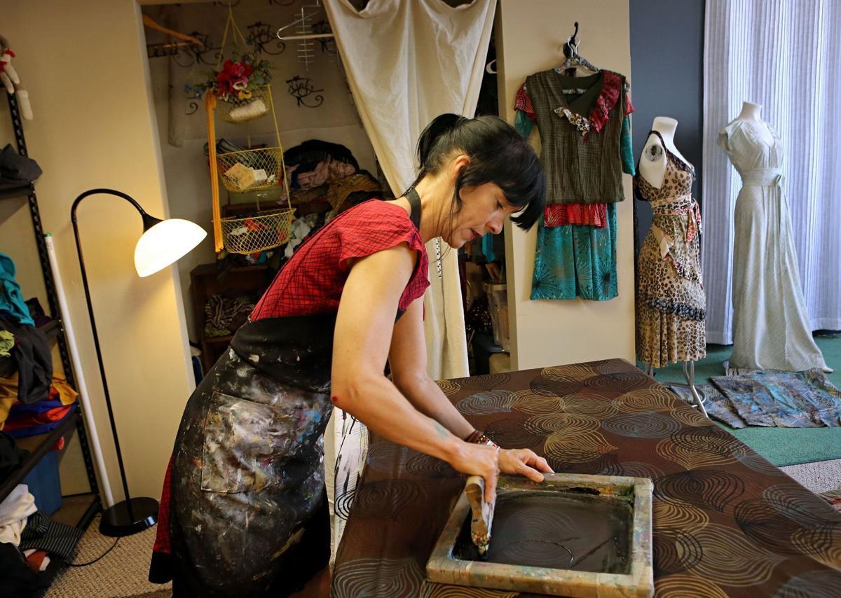 Kristen Kempton, Fink (Fashion + ink)  handmade garments