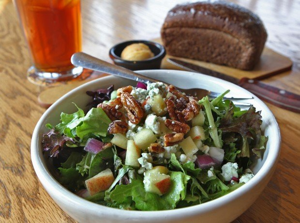 Summer blend salad featured at 54th Street Grill and Bar