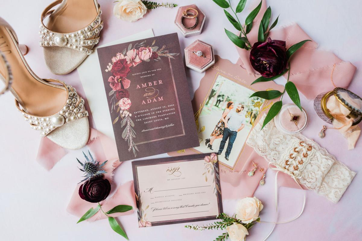 Amber and Adam's wedding at Larimore House by Jackelynn Noel Photography