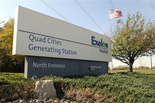 Exelon mulls closure of unprofitable Quad Cities nuke plant