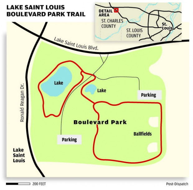 how long does it take for a letter to arrive trail of the week boulevard park in lake louis 50086