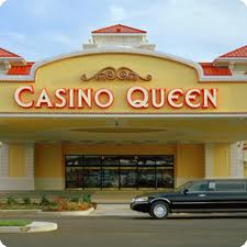 Exterior of Casino Queen