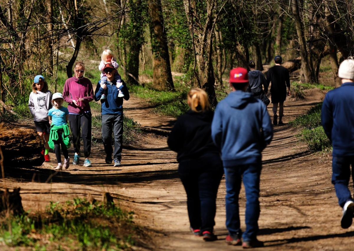 Parks in St. Louis region bustle despite calls for social distancing