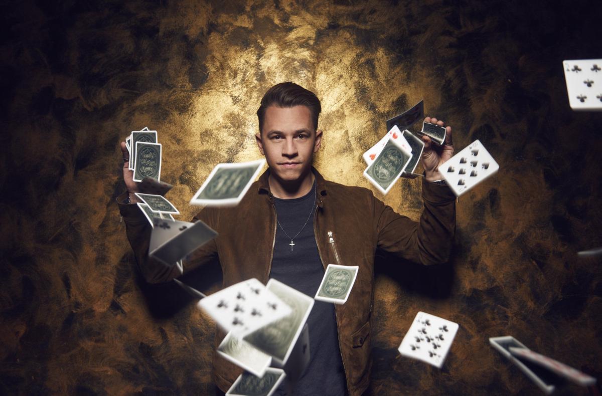 Magician Justin Flom