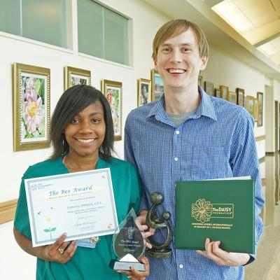 HSHS St. Elizabeth's Hospital's DAISY and BEE Award Recipients