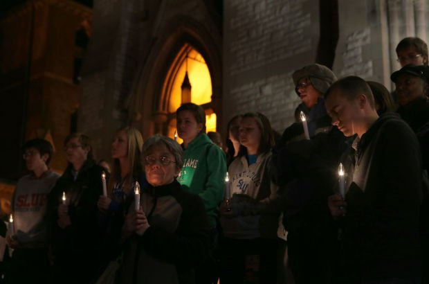 Vigil in opposition of the death penalty